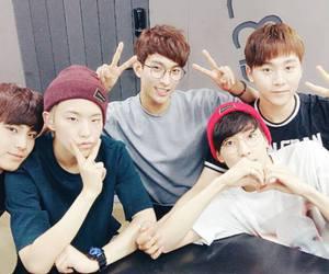 Seventeen, DK, and wonwoo image
