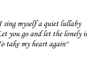 heart, lonely, and quote image