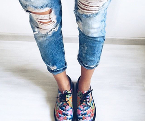 shoes, fashion, and dr martens image