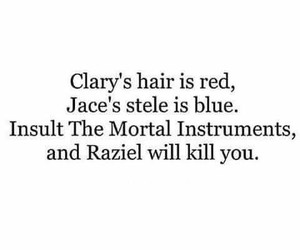 the mortal instruments, jace herondale, and clary fray image