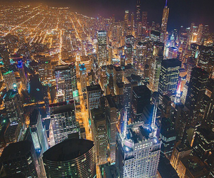 awesome, city, and lights image