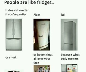 funny, quote, and fridge image