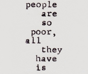 quotes, money, and poor image