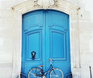 blue, door, and travel image