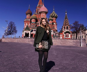 blogger, moscow, and fashion image