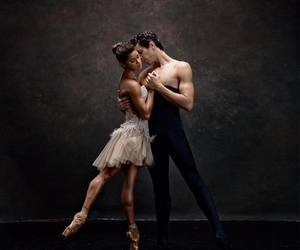 ballet, beautiful couples, and interracial couples image