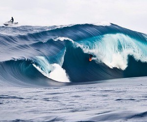 summer, surf, and waves image