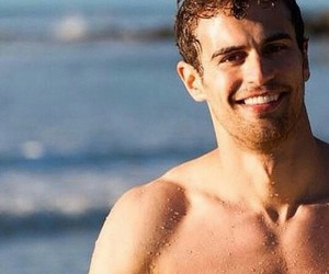 theo james and smile image