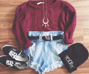 beanie, fashion, and vans image
