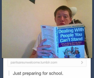 funny, school, and people image