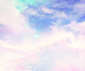 cotton candy, Dream, and galaxy image