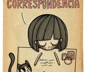 carta, correspondencia, and tristeza image