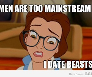 funny, disney, and beast image