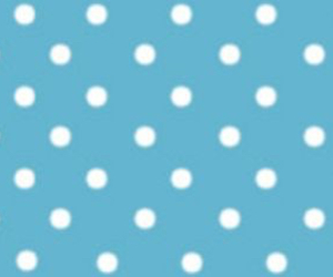 blue, facebook cover, and polka dots image