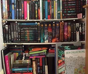 books, shelfie, and bookshelf image