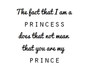 princess, prince, and love image