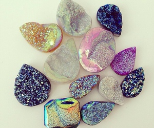 pretty, stones, and crystal image