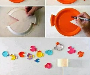 diy, fish, and decoration image