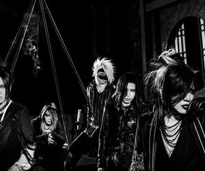 aoi, black and white, and jrock image