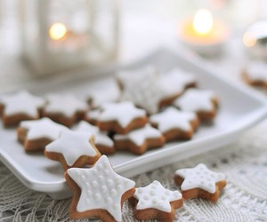 Cookies, stars, and delicious image
