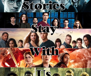 fandom, story, and teen wolf image