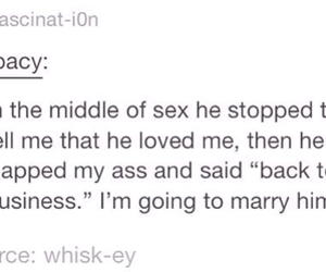 I Love You, marry, and sex image