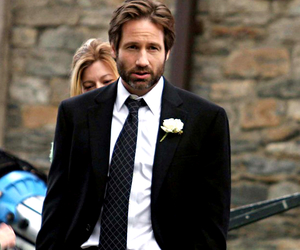 dad, david duchovny, and Hot image