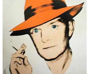 art, Truman Capote, and warhol image