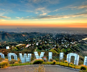 hollywood, city, and la image