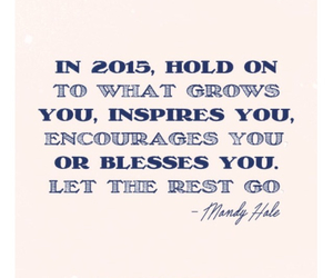 grow, inspire, and quote image