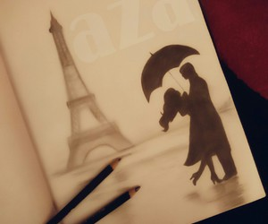 art, любовь, and рисунки image