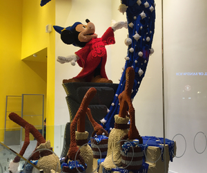 lego, mickey, and lego store image