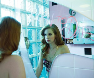 lana del rey, born to die, and mirror image
