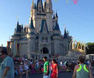 castle, disney, and disney world image