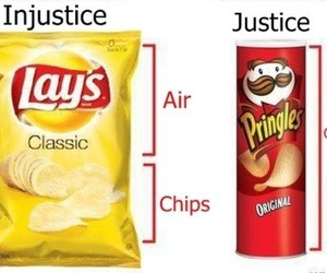 chips, pringles, and justice image