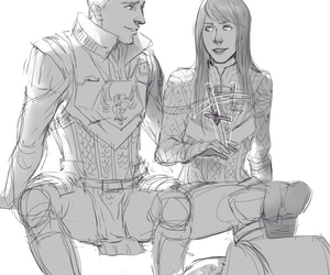 dragon age, alistair, and love image