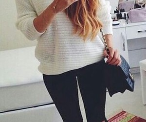 girl, outfit, and fashion image