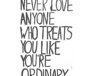 love, ordinary, and quotes image