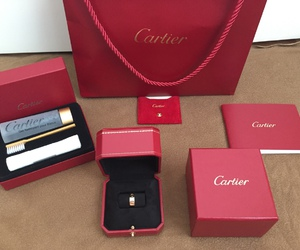 cartier, red, and rouge image