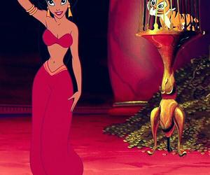 cartoon, princess jasmine, and sexy image