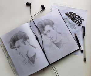 arctic monkeys, alex turner, and art image