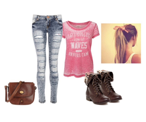 college, fashion, and Polyvore image
