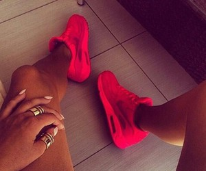 air max, red, and style image