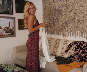 Alexis, blonde, and dress image