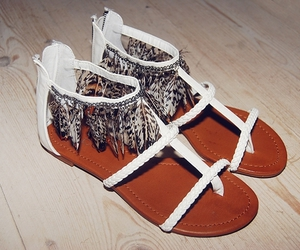 shoes, sandals, and white image
