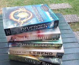 books, reading, and delirium image
