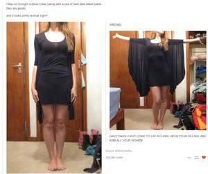 tumblr, dress, and fashion image