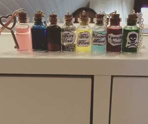 diy, mini bottle, and harry potter image