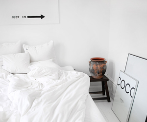bedroom, chanel, and interior image