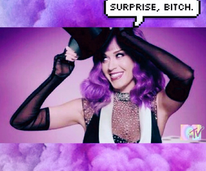katy perry, purple, and mad motion image